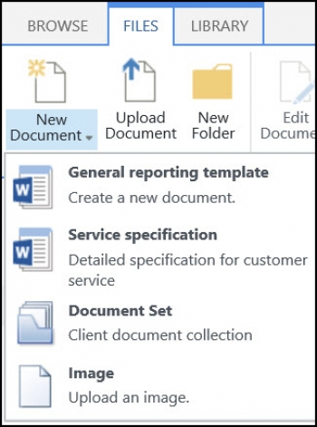 Site Content Type trong SharePoint