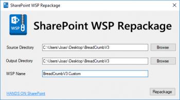 SharePoint Breadcrumb V3  - chuyển đổi đường dẫn giữa các folders